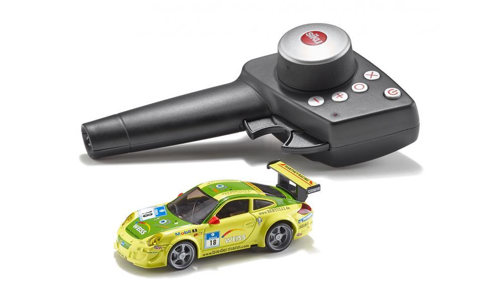 картинка Металлический автомобиль Porsche 911 GT3 RSR, на радиоуправлении от магазина Bebikam.ru