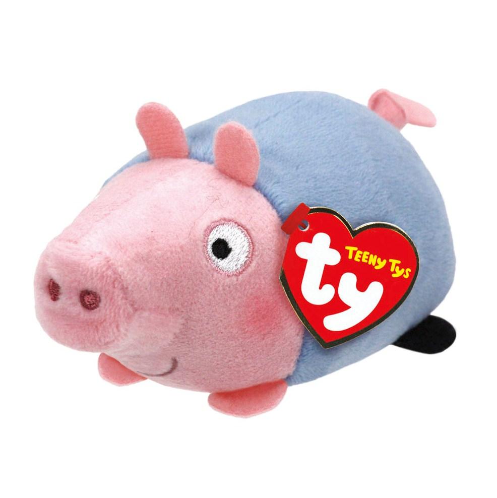 Мягкая игрушка Teeny Tys - Свинка Джордж, 11 смЖивотные<br>Мягкая игрушка Teeny Tys - Свинка Джордж, 11 см<br>