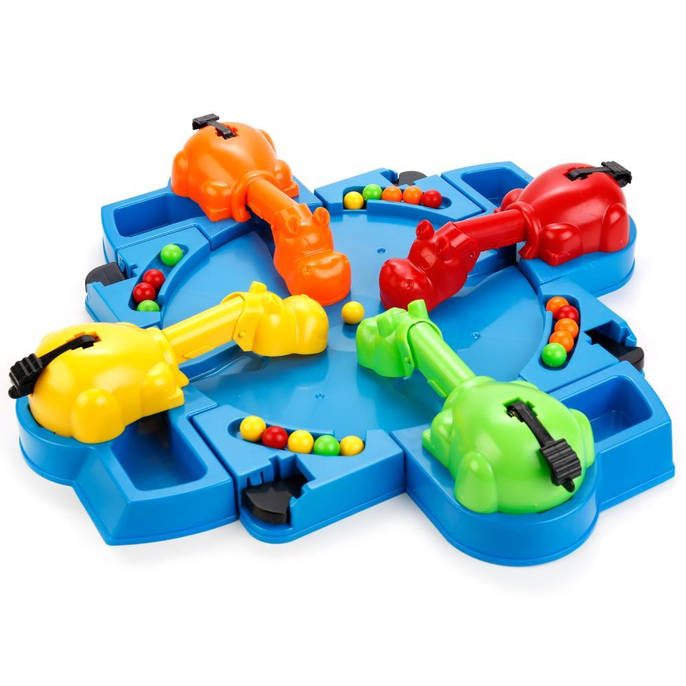картинка Настольная игра - Накорми бегемотов, для 4 игроков от магазина Bebikam.ru