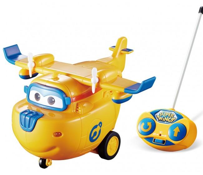 Самолет Донни из серии Супер Крылья на радиоуправленииСупер Крылья Super Wings<br>Самолет Донни из серии Супер Крылья на радиоуправлении<br>
