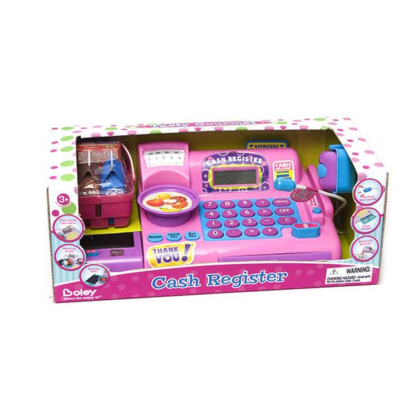 Касса-калькулятор с микрофономДетская игрушка Касса. Магазин. Супермаркет<br>Касса-калькулятор с микрофоном<br>