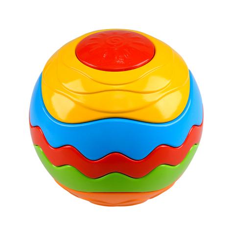 Купить Развивающая игрушка мяч-пазл - Радуга, PlayGo