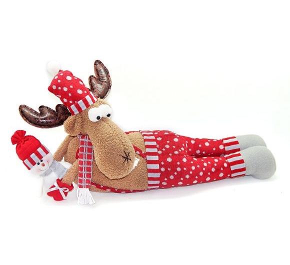 Кукла Олень-весельчак 66 х 30,5 см., краснаяЖивотные<br>Кукла Олень-весельчак 66 х 30,5 см., красная<br>