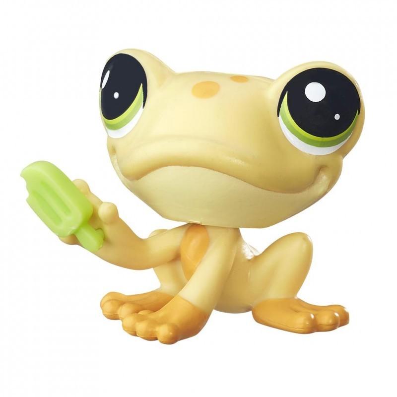 Littlest Pet Shop. Коллекционная фигурка - Лягушка Froggy La RanaLittlest Pet Shop – Маленький зоомагазин<br>Littlest Pet Shop. Коллекционная фигурка - Лягушка Froggy La Rana<br>