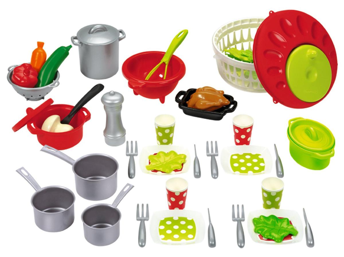 Smoby  набор игрушечной посуды - Аксессуары и техника для детской кухни, артикул: 61983