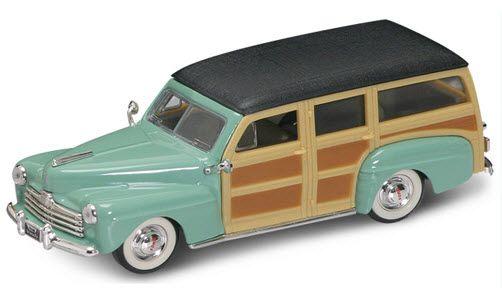 Коллекционная модель автомобиля 1948 года - Форд Вуди, 1/43Ford<br>Коллекционная модель автомобиля 1948 года - Форд Вуди, 1/43<br>