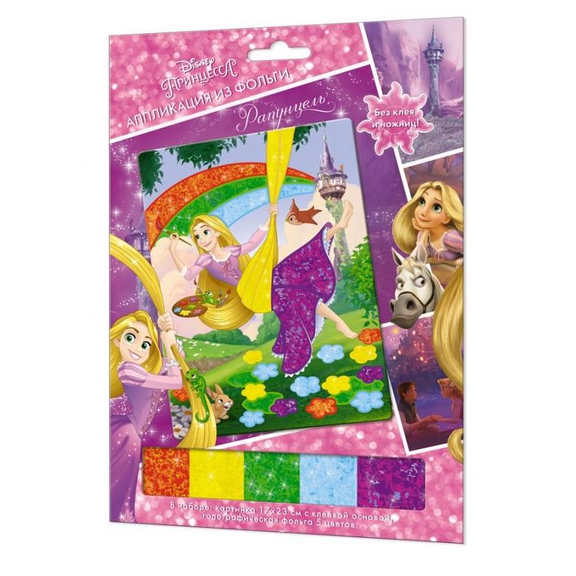 Аппликация из фольги Disney Princess™ - РапунцельТворчество<br>Аппликация из фольги Disney Princess™ - Рапунцель<br>