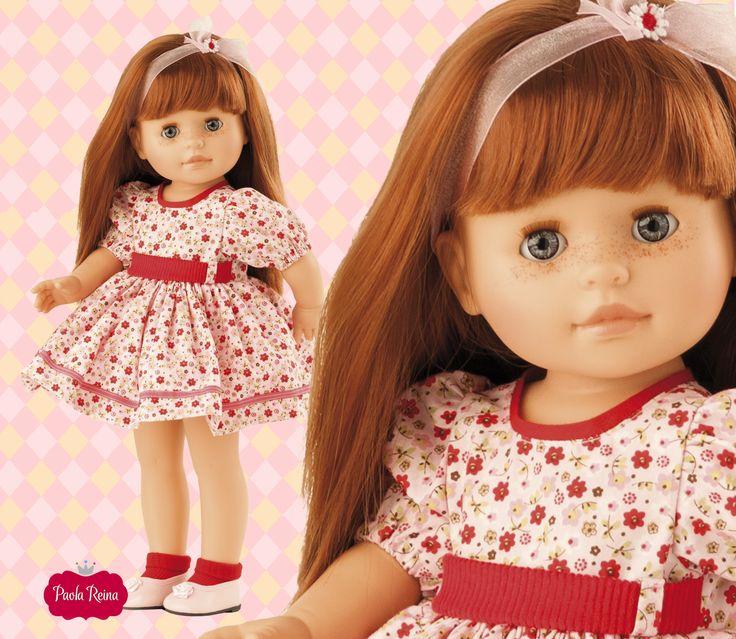 Кукла Бекка, 40 смИспанские куклы Paola Reina (Паола Рейна)<br>Кукла Бекка, 40 см<br>