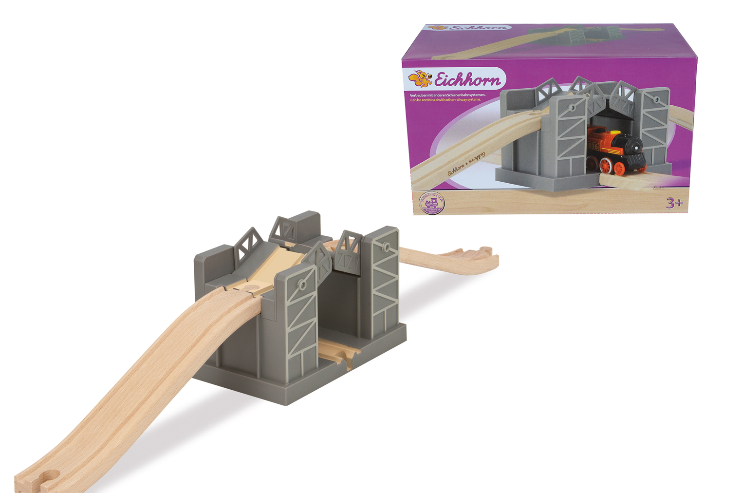 Игровой набор - Поднимающийся мостЖелезная дорога для малышей<br>Игровой набор - Поднимающийся мост<br>