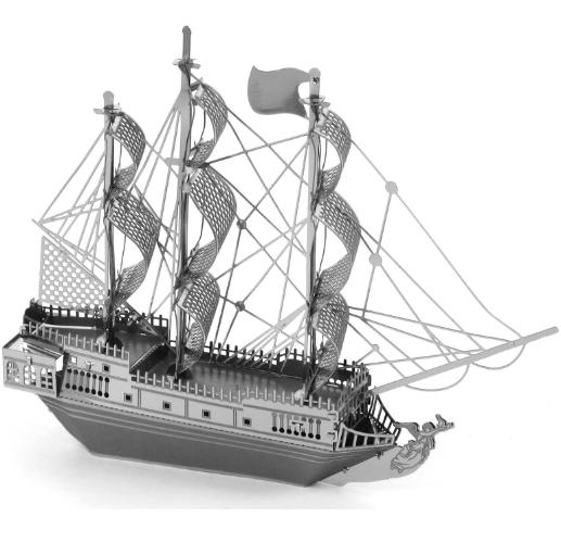 Модель для сборки - Чёрная жемчужинаМодели кораблей для склеивания<br>Модель для сборки - Чёрная жемчужина<br>