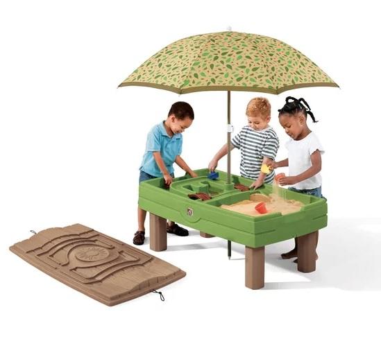 Купить Столик для игр с песком и водой, Step2