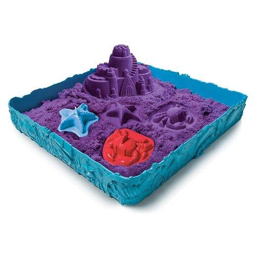 Набор Kinetic sand - Песок для лепки, песочница и формочкиКинетический песок<br>Набор Kinetic sand - Песок для лепки, песочница и формочки<br>