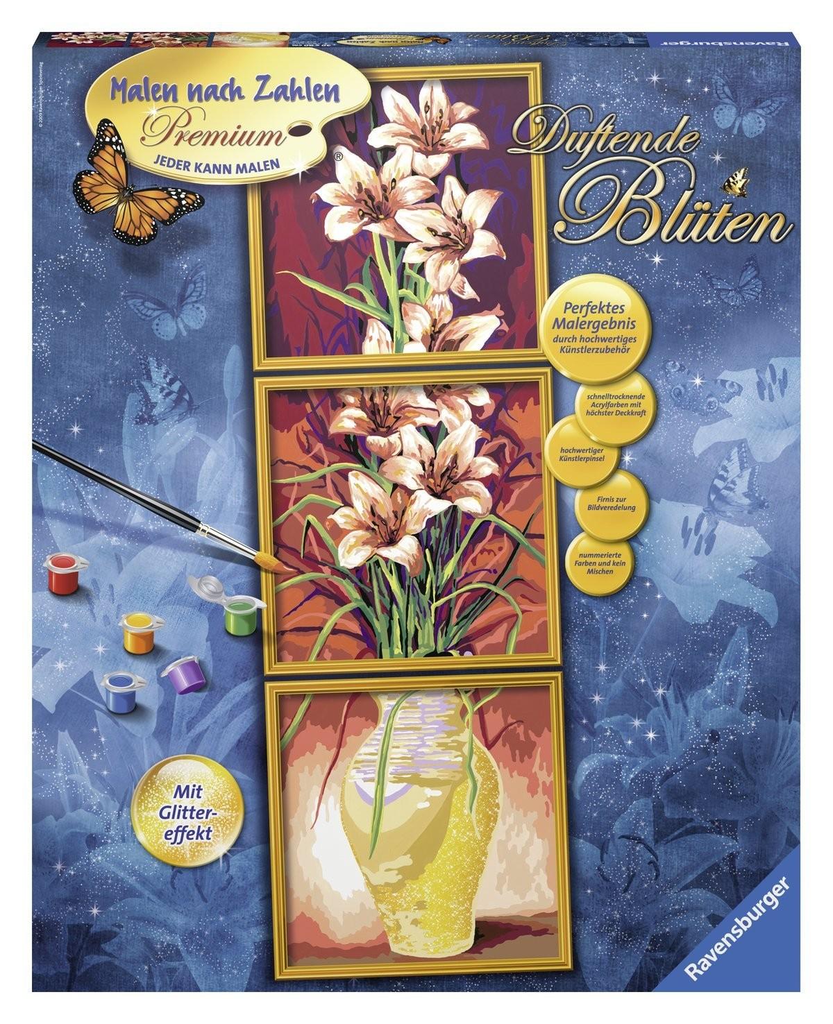 Раскрашивание по номерам «Цветы»Раскраски по номерам Schipper<br>Раскрашивание по номерам «Цветы»<br>