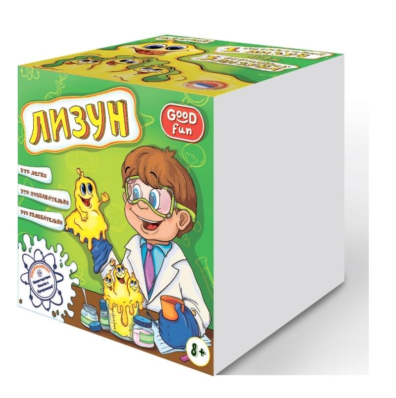 Набор для опытов – Лизун, желтыйЮный химик<br>Набор для опытов – Лизун, желтый<br>