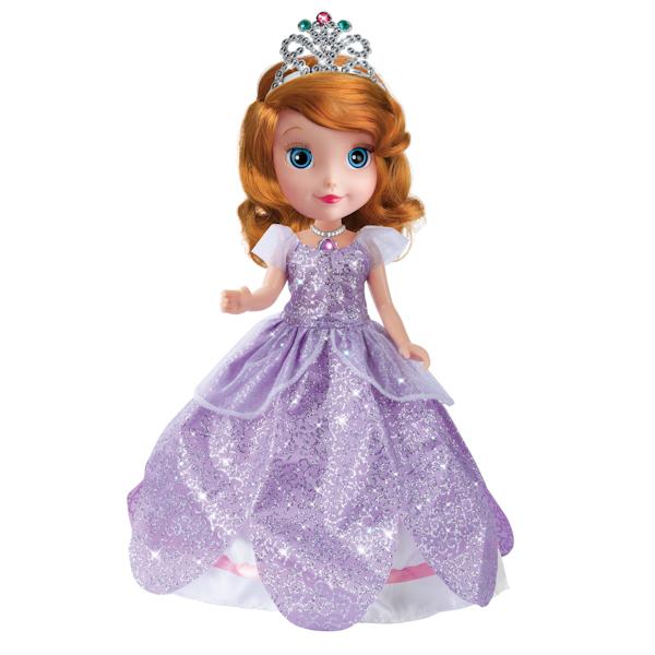 Купить Озвученная кукла Disney Принцесса – София, 25 см, с набором для волос, Карапуз