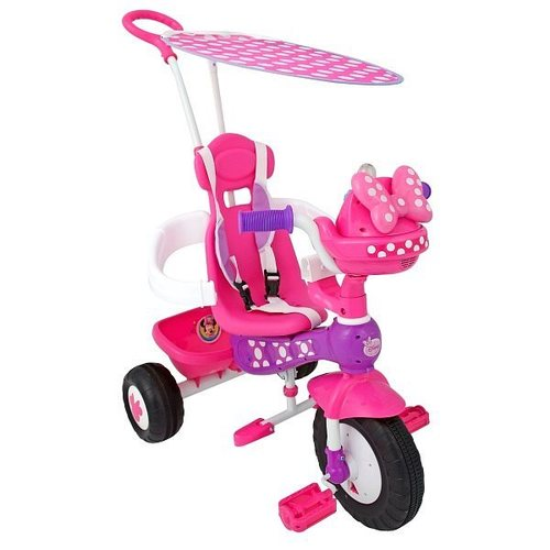 Трехколесный велосипед «Минни Маус» Kiddieland, KID 048983 от Toyway