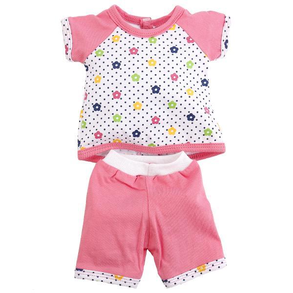 Комплект одежды для куклы Карапуз 40-42 см - туника и бриджи