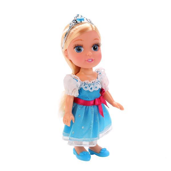 Озвученная Кукла Disney Princess - Золушка 15 см с аксессуарамиКуклы Карапуз<br>Озвученная Кукла Disney Princess - Золушка 15 см с аксессуарами<br>