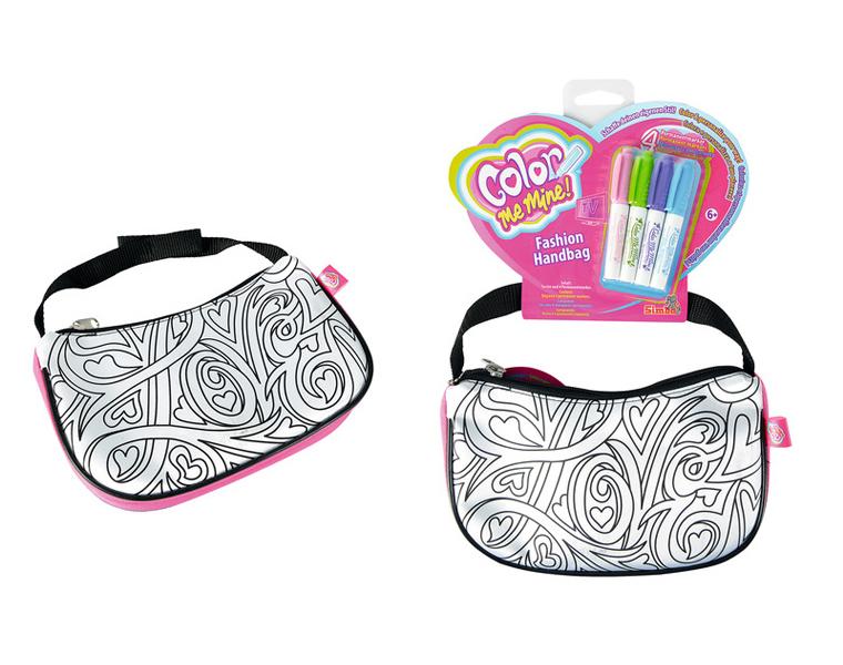 Стильная сумочка с четырьмя перманентными маркерамиСумки и  рюкзачки Simba Color Me mine<br>Стильная сумочка с четырьмя перманентными маркерами<br>