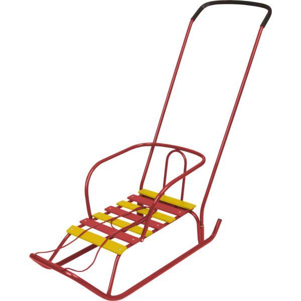 Детские санки - Ветерок 2, красныеСанки и сани-коляски<br>Детские санки - Ветерок 2, красные<br>