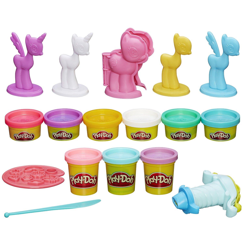 Игровой набор Создай любимую пони Play-DohПластилин Play-Doh<br>Игровой набор Создай любимую пони Play-Doh<br>