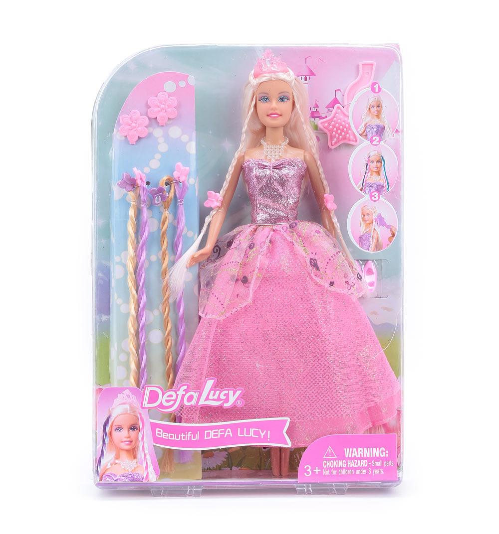 Кукла – Принцесса, с дополнительными прядями, 29 смКуклы Defa Lucy<br>Кукла – Принцесса, с дополнительными прядями, 29 см<br>