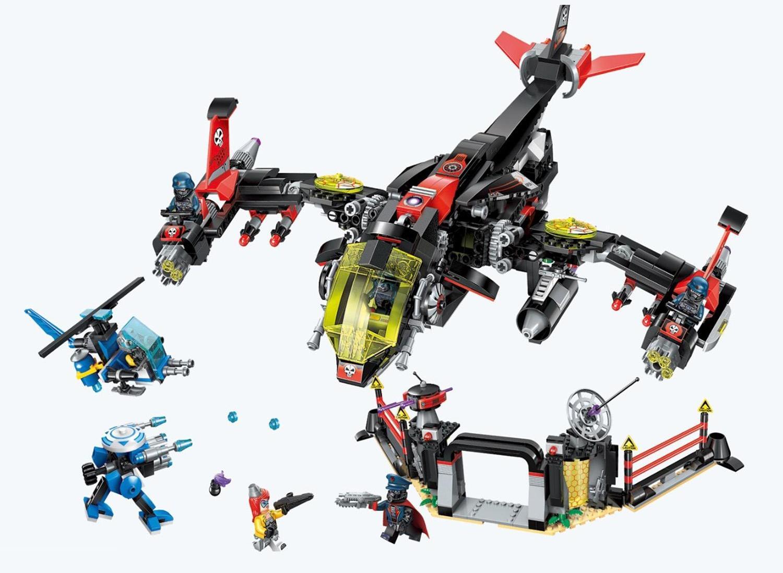 Конструктор - Самолет, с фигурками и аксессуарами, 1013 деталей ) по цене 3 730