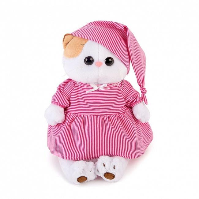 Купить Мягкая игрушка - Кошка Ли-Ли в розовой пижамке, В1, 24 см, Budi Basa