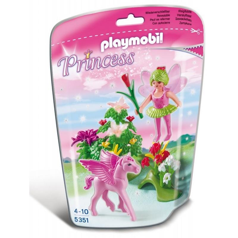 Игровой набор Сказочная Принцесса Весны с летающей лошадкойПринцессы и Феи<br>Игровой набор Сказочная Принцесса Весны с летающей лошадкой<br>