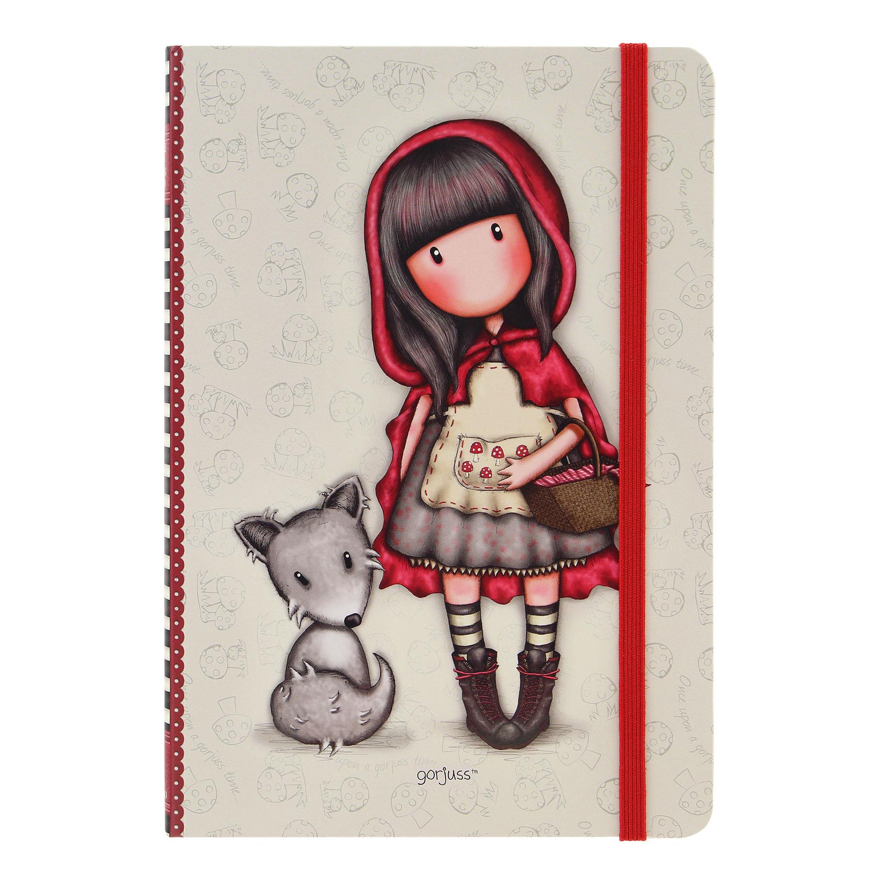 Купить Блокнот в твердой обложке - Little Red Riding Hood, Santoro London