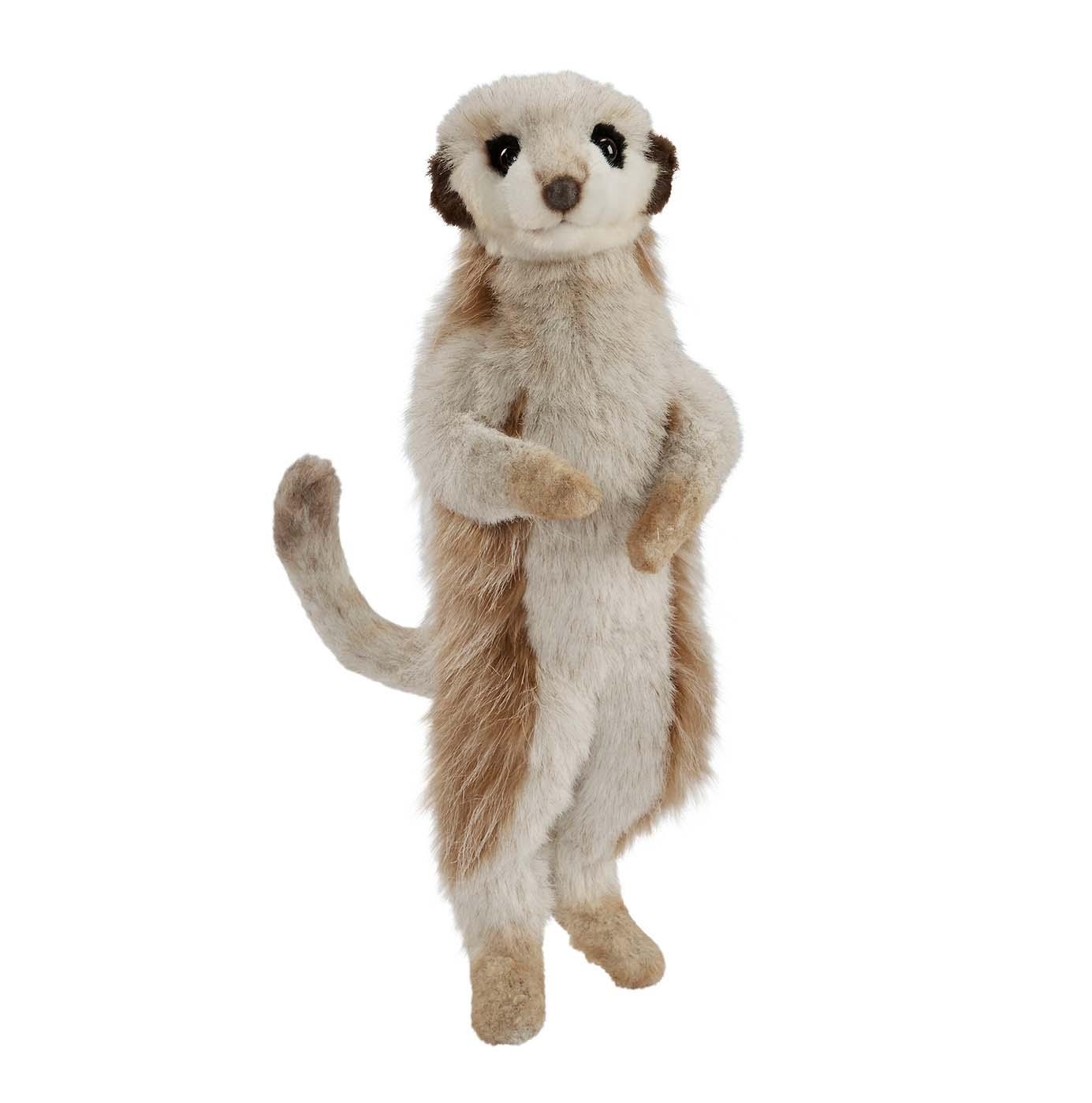 Мягкая игрушка - Сурикат, 33 смДикие животные<br>Мягкая игрушка - Сурикат, 33 см<br>