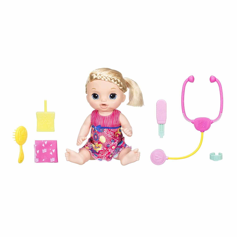 Кукла Baby Alive - Малышка у врача, 36,5 смИнтерактивные куклы<br>Кукла Baby Alive - Малышка у врача, 36,5 см<br>