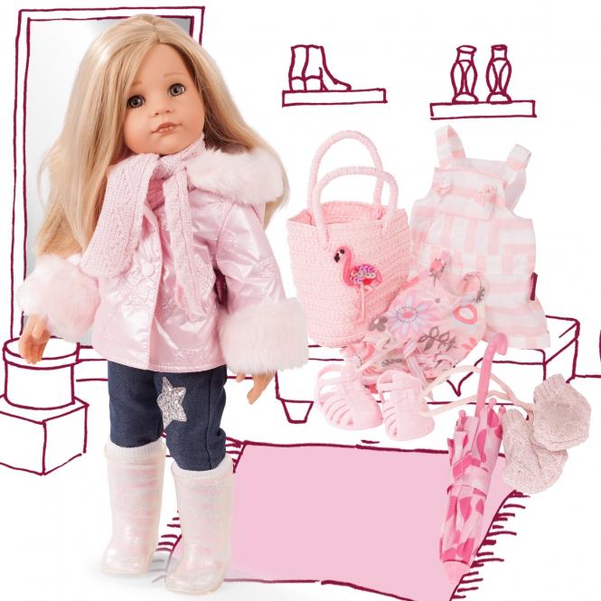 Купить Кукла Ханна 50 см. с 16 аксессуарами, Gotz