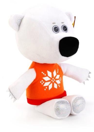 Озвученная мягкая игрушка - Медвежонок Белая Тучка, 30 смГоворящие игрушки<br>Озвученная мягкая игрушка - Медвежонок Белая Тучка, 30 см<br>