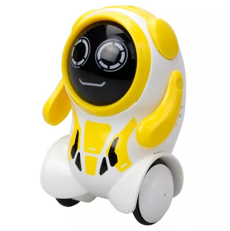 Купить Робот Покибот, бело-желтый круглый, Silverlit