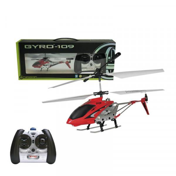 Вертолет с гироскопом Gyro-109 с инфракрасным пультом, 3 канала, 18,5 см., USB-зарядка