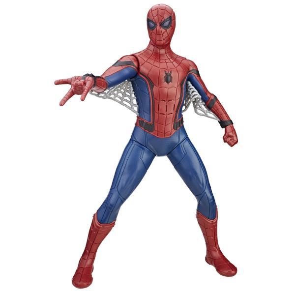 Фигурка Человека-паука со световыми и звуковыми эффектами, 38 см.Spider-Man (Игрушки Человек Паук)<br>Фигурка Человека-паука со световыми и звуковыми эффектами, 38 см.<br>