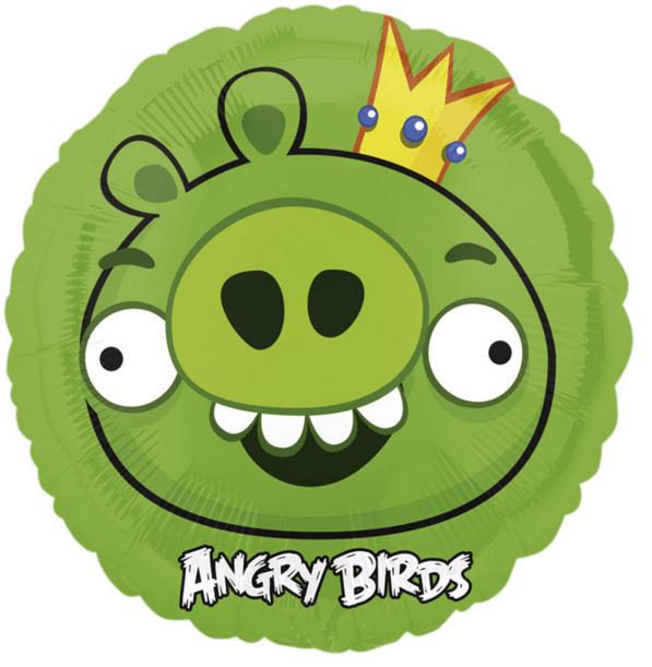 Купить Тарелка Angry Birds, 17 см, 8 штук, Amscan