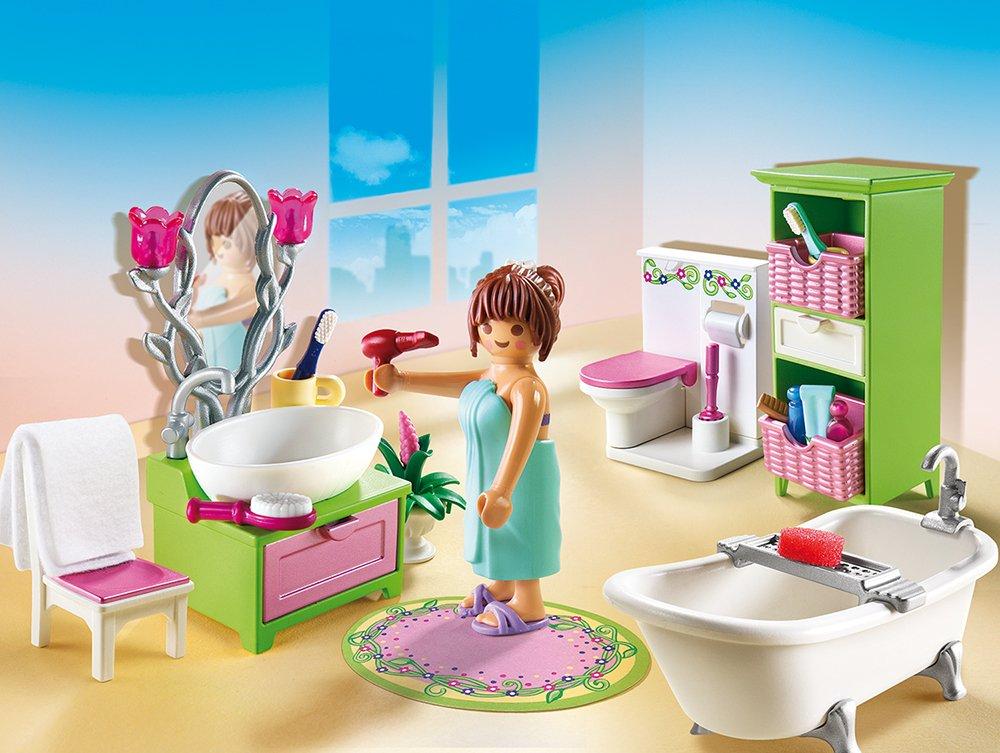 Купить Игровой набор из серии Кукольный дом: Романтическая ванная комната, Playmobil