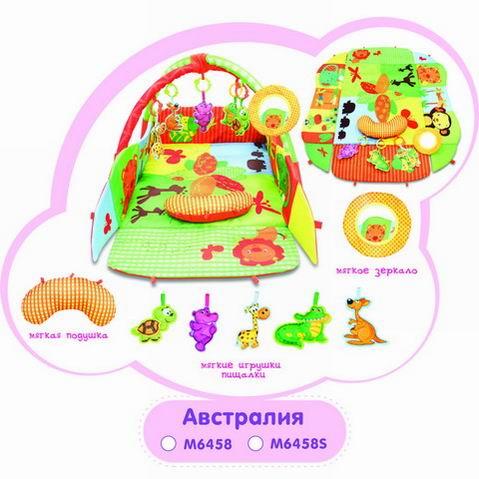 Игровой коврик с бортами – Австралия - Детские развивающие коврики для новорожденных, артикул: 166357