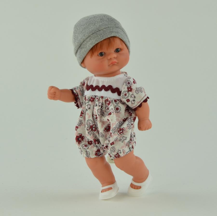 Кукла пупсик с рыжими волосами, 20 см.Куклы ASI (Испания)<br>Кукла пупсик с рыжими волосами, 20 см.<br>