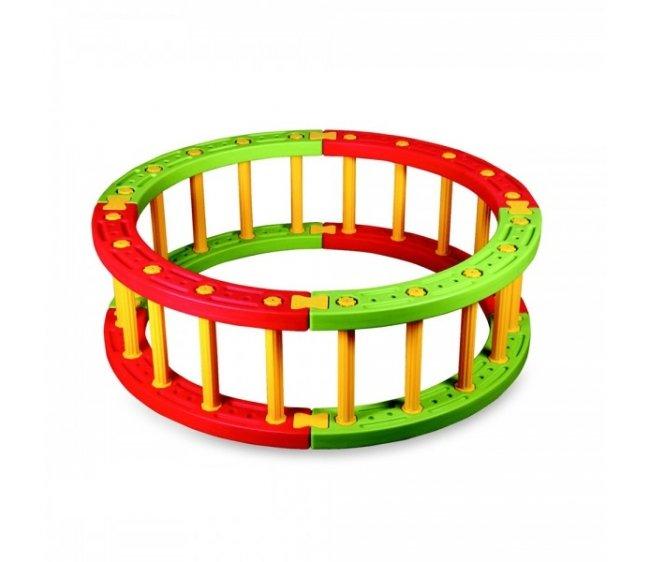 Купить Пластиковый круглый манеж, высота 45 см., King Kids