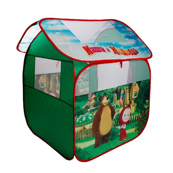 Детская игровая палатка Маша и медведь, в сумкеДомики-палатки<br>Детская игровая палатка Маша и медведь, в сумке<br>