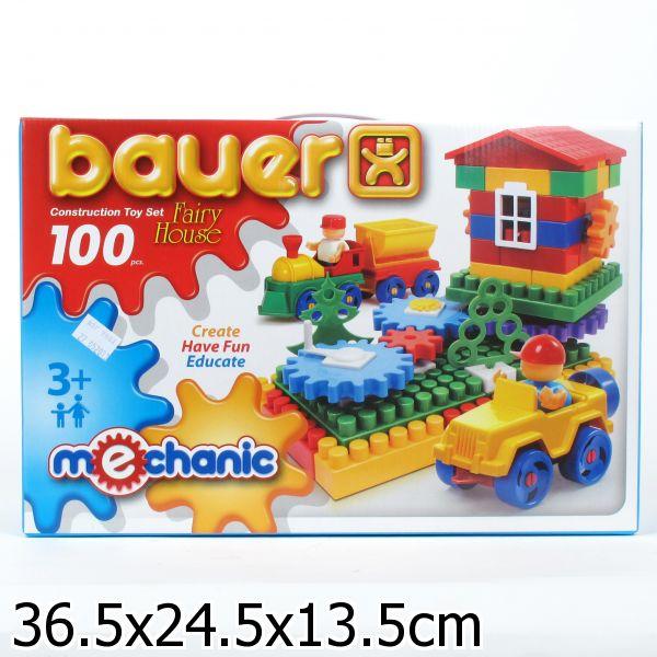 Конструктор «Mechanic» - Избушка, 100 элементовКонструкторы Bauer Кроха (для малышей)<br>Конструктор «Mechanic» - Избушка, 100 элементов<br>