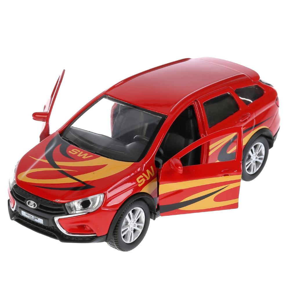 Купить Машина инерционная металлическая - Lada Vesta Sw Cross Спорт, 12 см, Технопарк