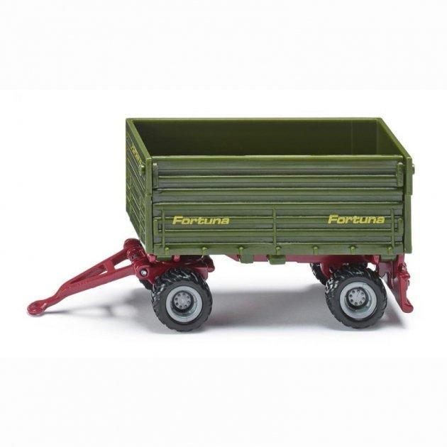 Четырехколесный прицеп для машин и тракторов Fortuna, металлический, Siku  - купить со скидкой