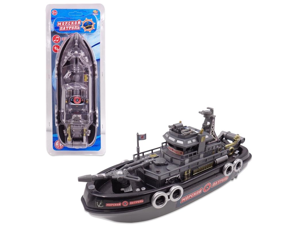 Катер - Морской патруль, с водометом, световые и звуковые эффекты )Корабли и катера в ванну<br>Катер - Морской патруль, с водометом, световые и звуковые эффекты )<br>