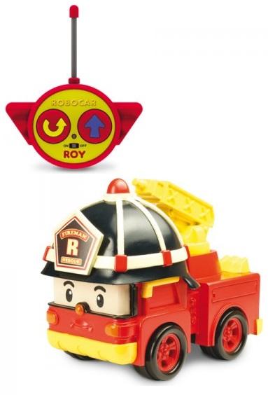 Радиоуправляемая машинка Рой, свет фар, мигает сирена на крыше и звук сиреныRobocar Poli. Робокар Поли и его друзья<br>Радиоуправляемая машинка Рой, свет фар, мигает сирена на крыше и звук сирены<br>