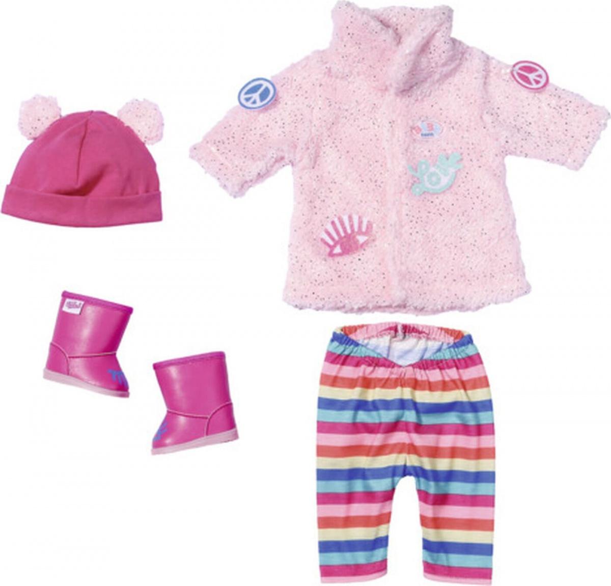 Купить Одежда для куклы Baby born - Зимняя одежда для модниц, Zapf Creation