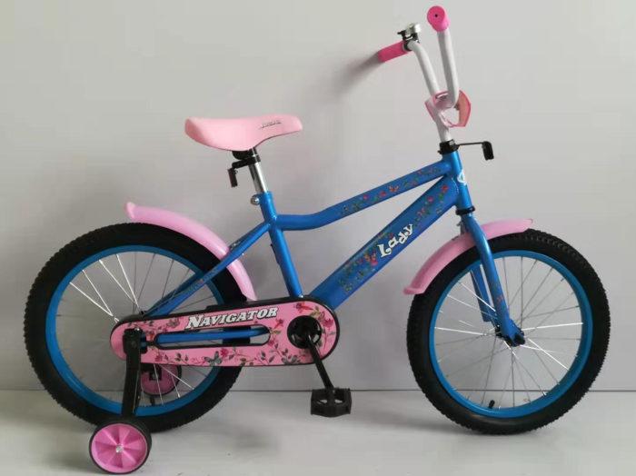 """Детский велосипед Navigator Lady, колеса 18"""""""